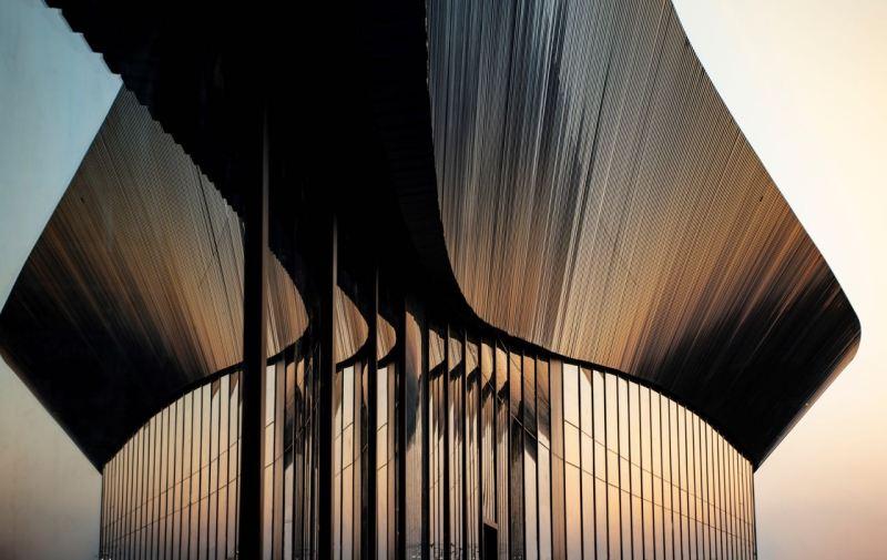 Ein Opernhaus? Nein, das Polestar Produktionszentrum in Chengdu