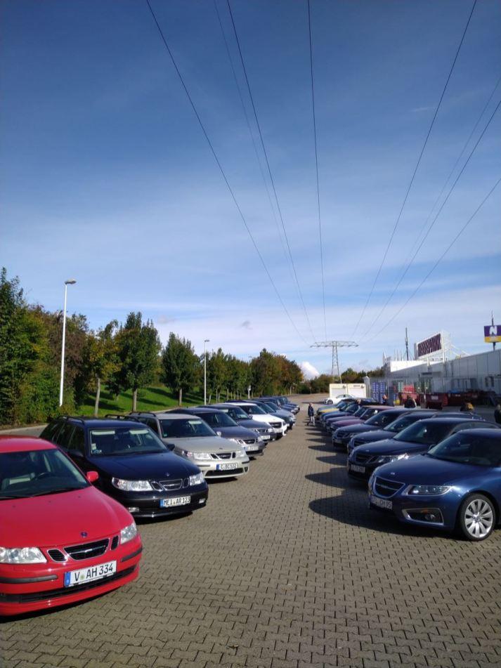 Saab-parade