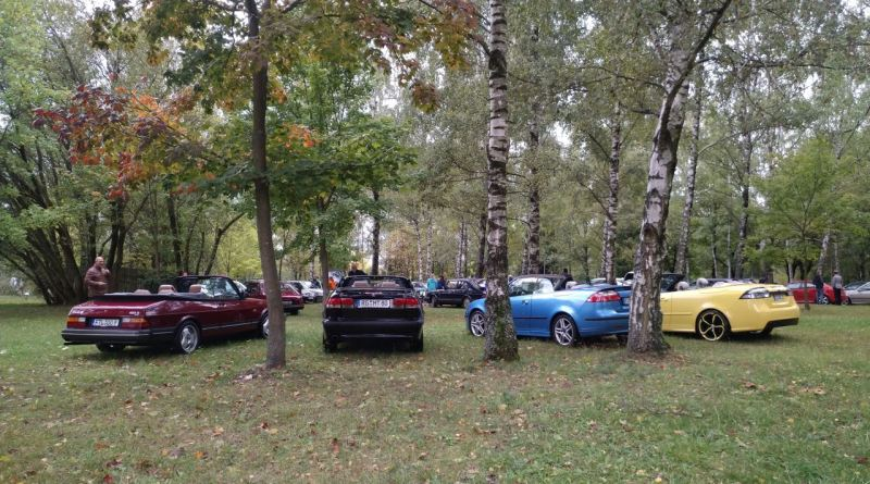 Impressões outonais de Saab