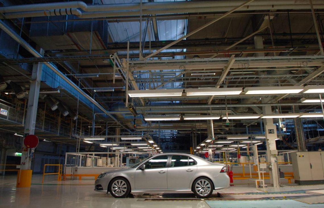 Saab 9-3 MY 2014 na fábrica