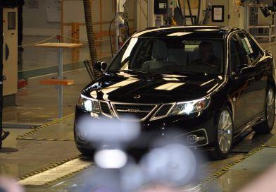 Der letzte produzierte Saab. Die Auktion läuft.