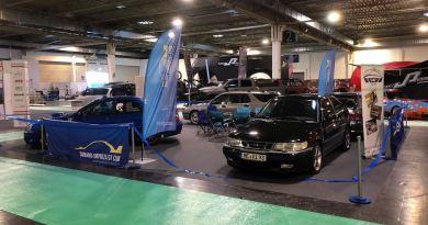 Saab - Subaru på Essen Motor Show