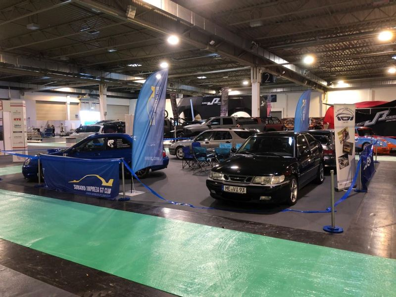 Saab - Subaru al Motor Show di Essen