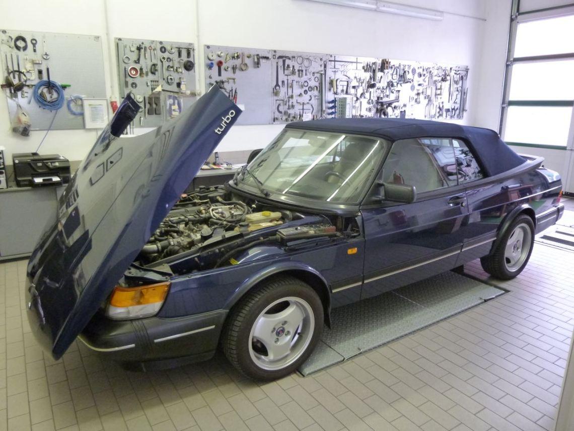 Saab-centrum Bamberg, 900 Cabriolet.