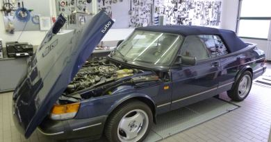 Saab Zentrum Bamberg, 900 Cabriolet.