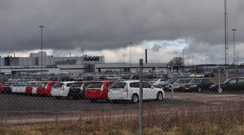 Saab fabrik 2012