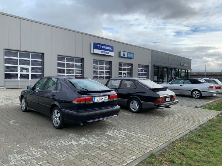 Subaru und Saab, die beiden Marken der Muckelbauers