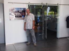 Visitando el Centro Saab en Kiel