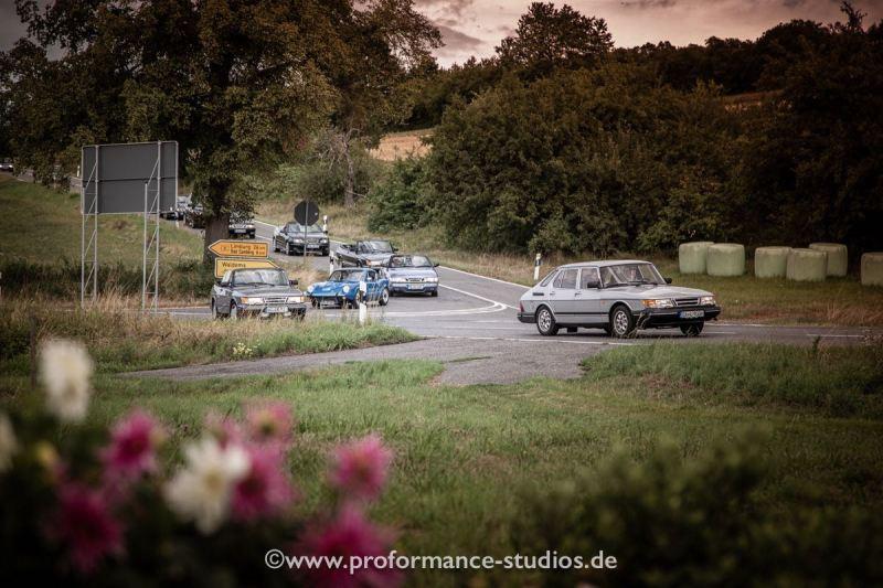 1. Saab Taunus Ausfahrt