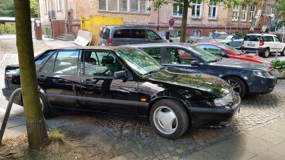 Saab 9000 Aero, модельный год 1996