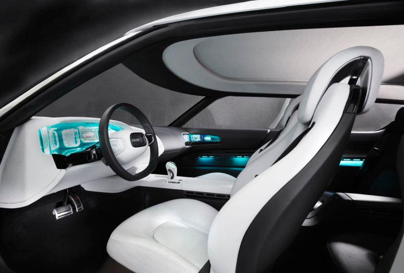 Conception du cockpit de l'étude 9-X Bio Hybrid