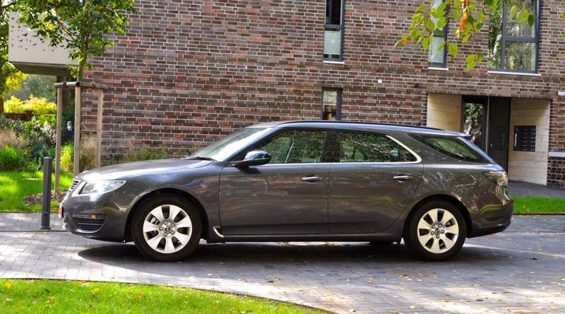 Einer der letzten Saab Neuwagen
