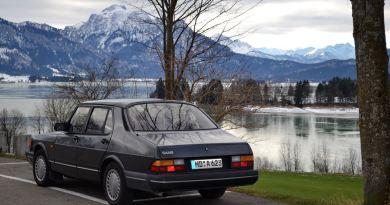 Quasi 31 anni. La Saab 900 Turbo di Dietmar.