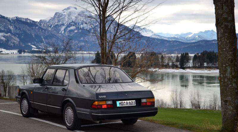 Bijna 31 jaar oud. De Saab 900 Turbo van Dietmar.