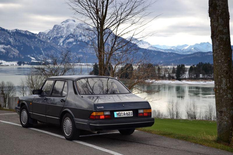 Fast 31 Jahre alt. Der Saab 900 Turbo von Dietmar.