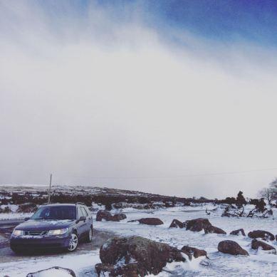 Ein 9-5 OG im Schnee kommt von Dan