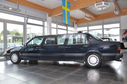 La lunghezza sta correndo. Direzione 9000 dalla fabbrica di Trollhättan.