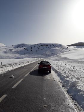 300.000 Kilometer! Auf dieser Fahrt übersprungen, so erzählt Michal aus Spanien.
