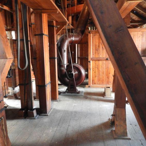 Посещение ГНЦ на исторической мельнице