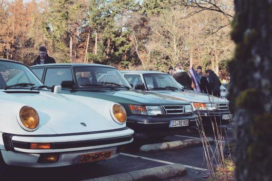 Saab, Porsche. Entrambi bellissimi classici.