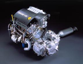 Dice Saab, pero en realidad es un motor GM de Ellesmere Port / Inglaterra