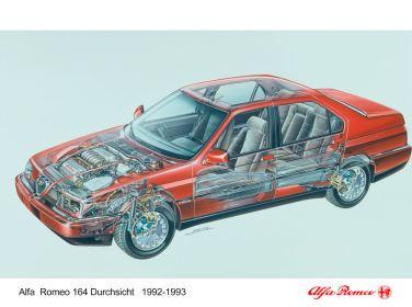 De prachtige V6 zou goed passen in de 9000 vanwege de relatie