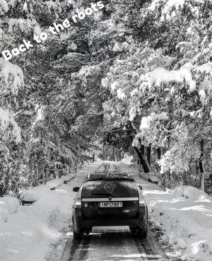 Neve! O ambiente natural para o 9-3x de Alex.