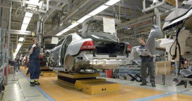 Production Saab à Trollhättan
