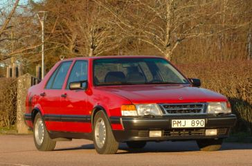 Saab 9000 CD with rare motorization
