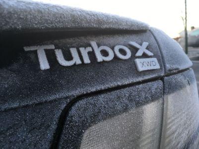 De Turbo X van Götz is ook actief in de winter van Hamburg