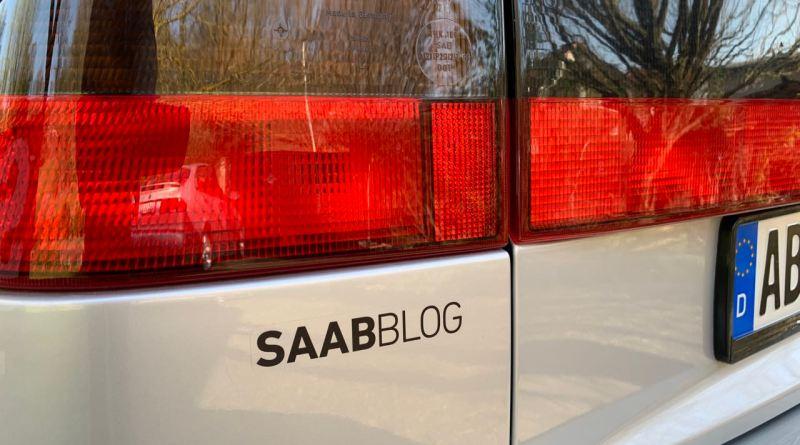 Saab Zeit war diese Woche auch. Die neuen Blog-Aufkleber sind da.