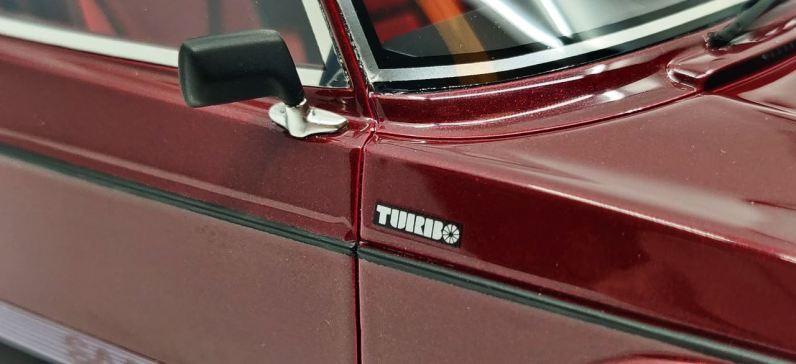 ضربة جيدة: الحروف توربو.
