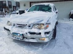 Jukonjohn92 skickar en bild från USA med mycket snö!