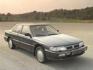 Provides headache. The Honda Legend, and not just that.