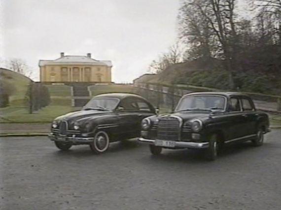 Saab vs. Mercedes. Een rivaliteit die opwindend is.