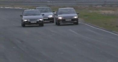 Due francesi e uno svedese nel 1991 sull'anello Anderstorp