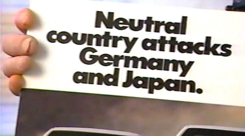 Svezia contro Germania e Giappone