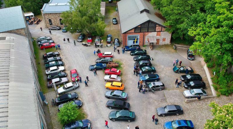 Uppifrån - Saab lördag i Osnabrück