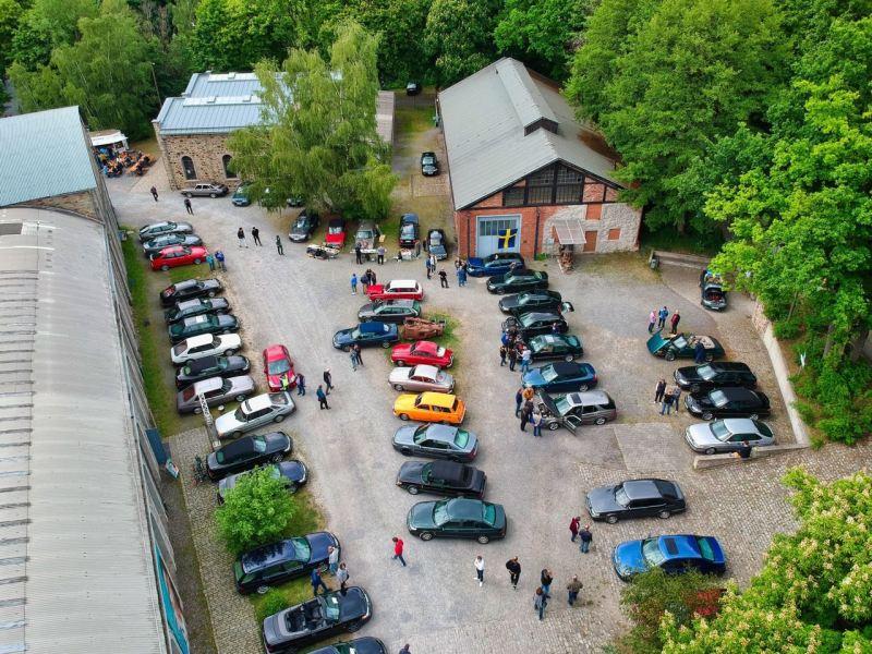 Von oben - Saab Saturday in Osnabrück