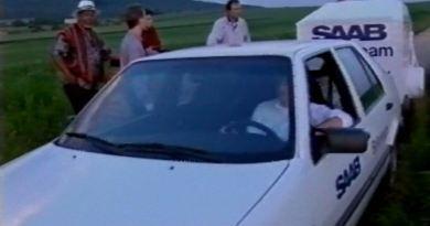 Saab Tyskland ballonglag på 90-talet