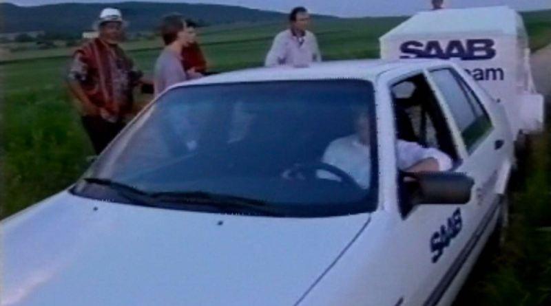 Das Saab Deutschland Ballon Team in den 90er Jahren