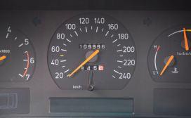 Weniger als 110.000 Kilometer stehen auf der Uhr