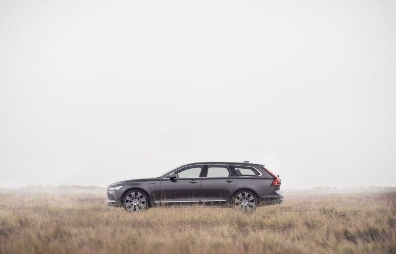 Modello Volvo V90 anno 21. Limitato a 180 km / h.