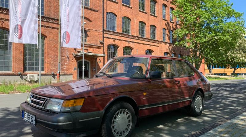 Saab 900 Turbo in der Klassikstadt