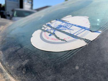 Artefakte der Flugzeugbegeisterung eines ehemaligen Besitzers