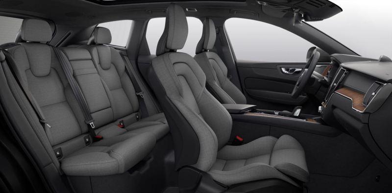 Nuevo en el año modelo 2021. Una mezcla de lana en el Volvo.