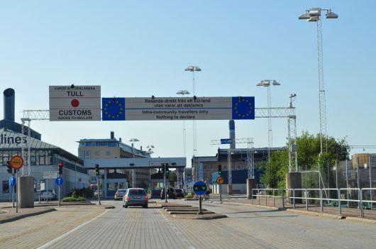Il confine - finalmente la Svezia