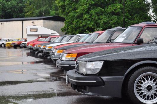 Saab 900 parade