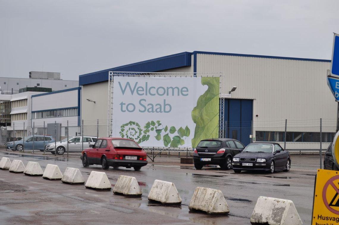 Willkommen bei Saab!