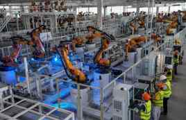 The fully automated plant corresponds to the 4.0 industry standard